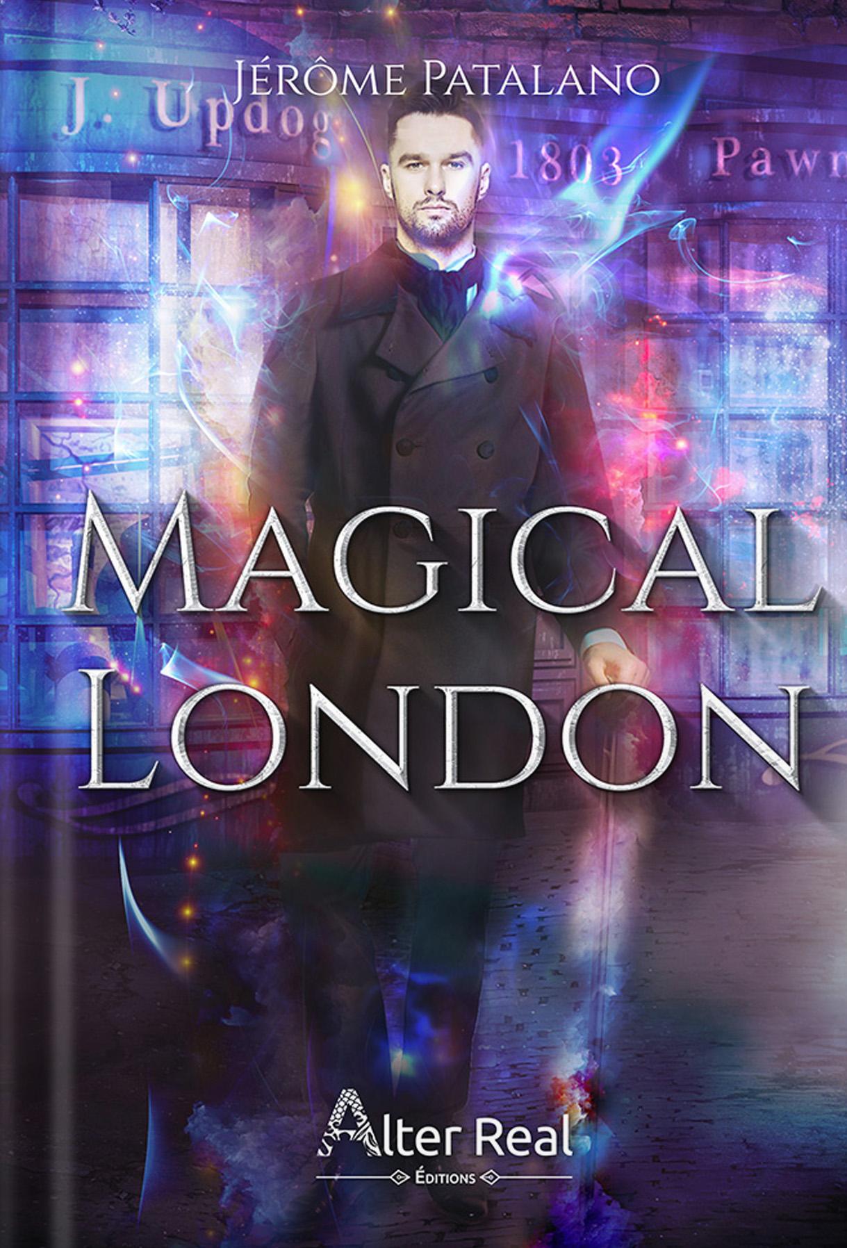 Magical London, une romance paranormale de Noël chez Alter Real